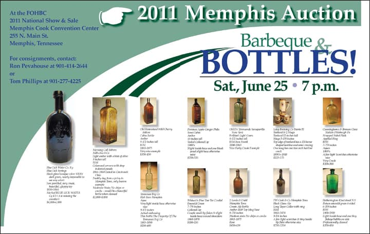 Memphis Auction Ad