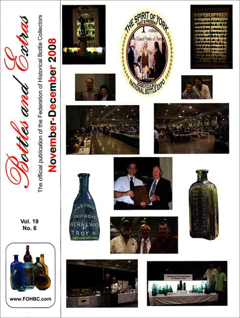 Bottles and Extras November December 2008