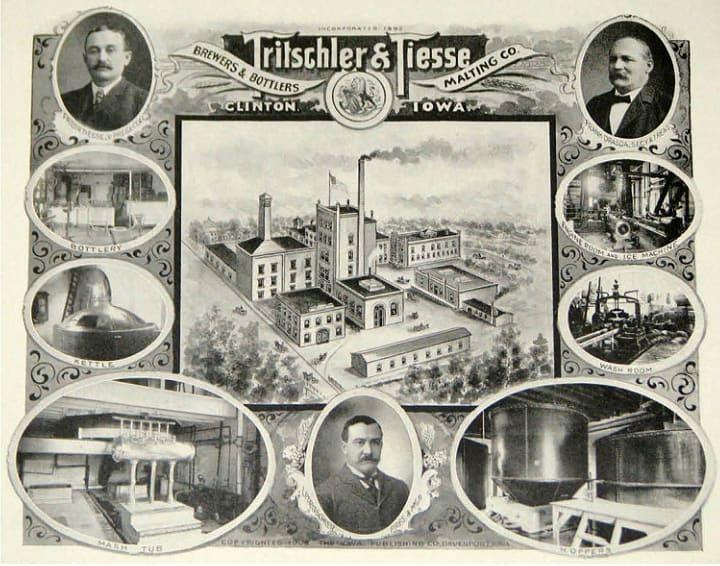 Clinton Brewery Illustration