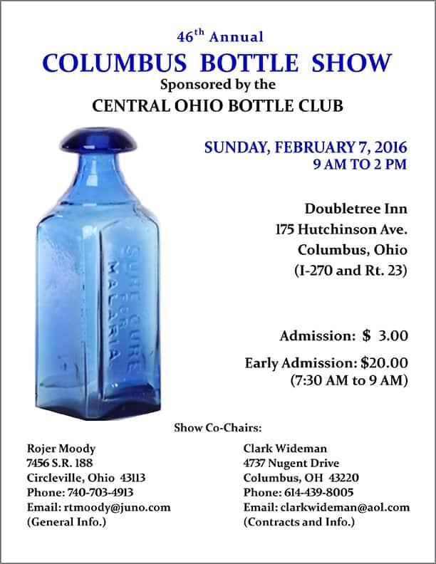 46th Annual Columbus Bottle Show @ Doubletree Inn   Columbus   Ohio   United States