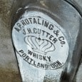 FOHBC members, Garth & Linda Ziegenhagen report an extremely important new find in a A.P. HOTALING & Co. J.H. CUTTER (embossed crown) WHISKY, PORTLAND. OGN. Garth […]