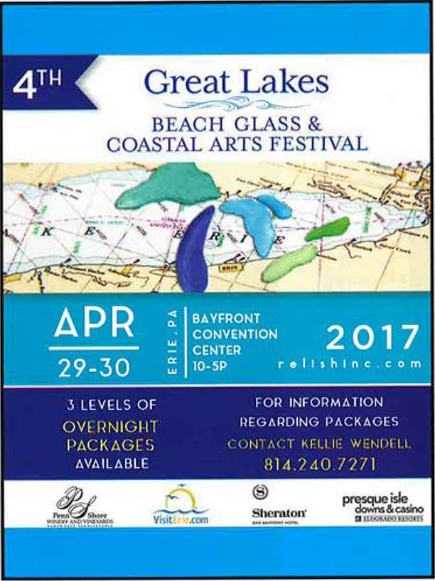 4th Great Lakes Beach Glass & Coastal Arts Festival @ Bayfront Convention Center
