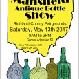 Mansfield holds its 39th Annual Show This past Saturday, Linda and I made our yearly trip to the Ohio Bottle Clubs 39th annual Mansfield show. […]