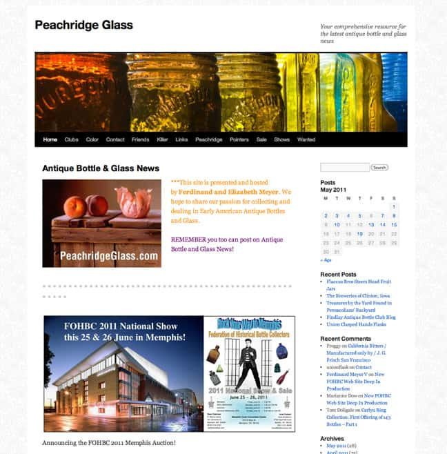 Peachridge Glass Web