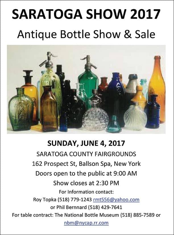 Annual Saratoga Bottle Show @ Saratoga County Fairgrounds   Ballston Spa   New York   United States
