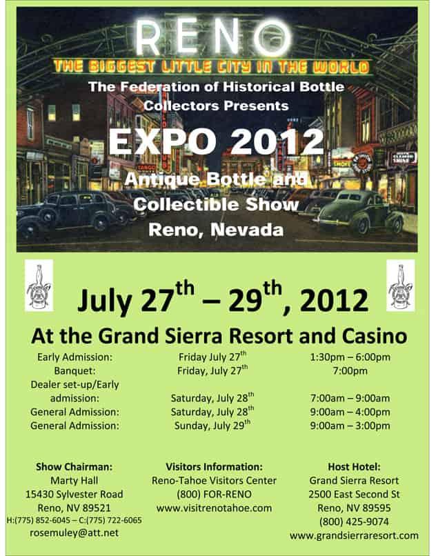 Reno 2012 Flyer