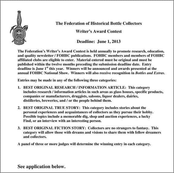 Microsoft Word - FOHBC writer's award contest & application 2013