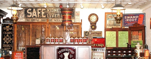 McMurray Antiques & Auctions New Circa 1900 Drug Store Museum We were able to work with Terry McMurray on his full-page, inside back cover, advertisement within […]