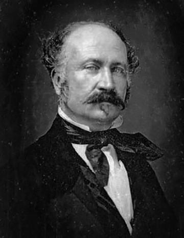 John Augustus Sutter. circa 1850