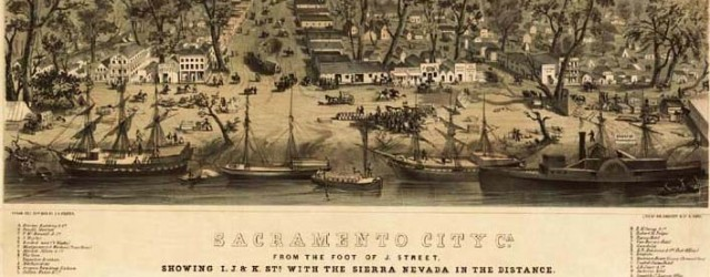 SACRAMENTO: A place where many came to seek a treasure. by Steve Abbott Some by ship, some by foot, some by horse, but none by […]