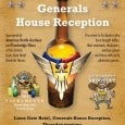 Generals House Reception Lions Gate Hotel, Generals House Reception, Thursday evening, August 4th 2016, 5:30 – 7:30 pm, Sponsored by American Bottle Auctions and Peachridge […]