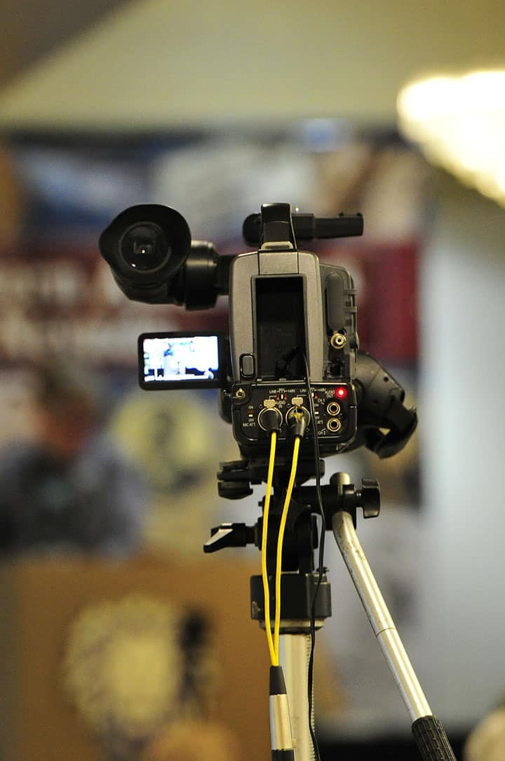 A_Auction_Filming