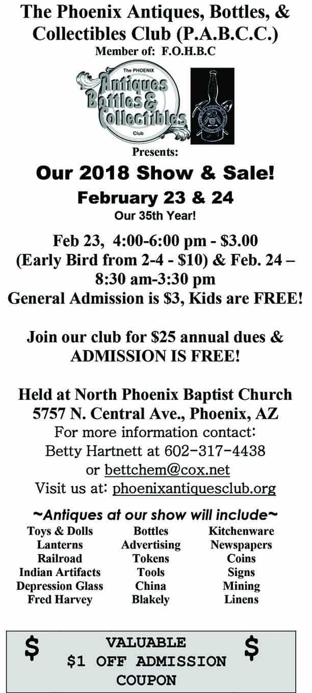 Phoenix 35th Annual Show and Sale @ North Phoenix Baptist Church | Phoenix | Arizona | United States