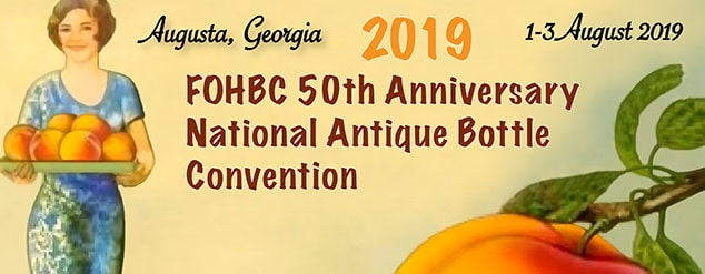 Latest Update – 22 July 2019 Dealer Tables, Early Admission and Banquet Tickets Still Available! CLICK HERE The Federation of Historical Bottle Collectors (FOHBC) is proud […]