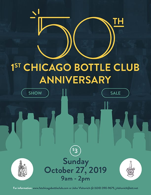 50th Annual 1st Chicago Bottle Clubs Show & Sale @ Holiday Inn Conference Center