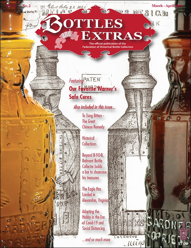 Bottles and Extras: March - April 21 Cover